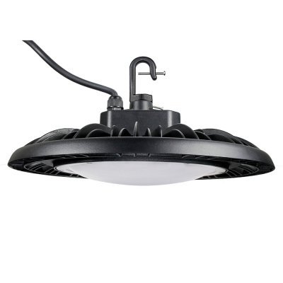 100W LED High Bay With DOME Cover -150LM/W - 15000lm - 100-277VAC -1-10V Dim-400W MH/HPS Equivalent - 5000K