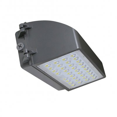 100W LED Wall Pack With Photocell - 13000Lumens - 120-347VAC - 400W MH/HPS Equivalent - 5000K