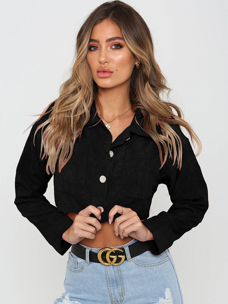 ZISION Pocket Long Sleeves Top