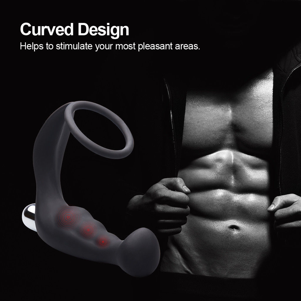 10 Speed Anal Plug Vibrator Prostate Massager