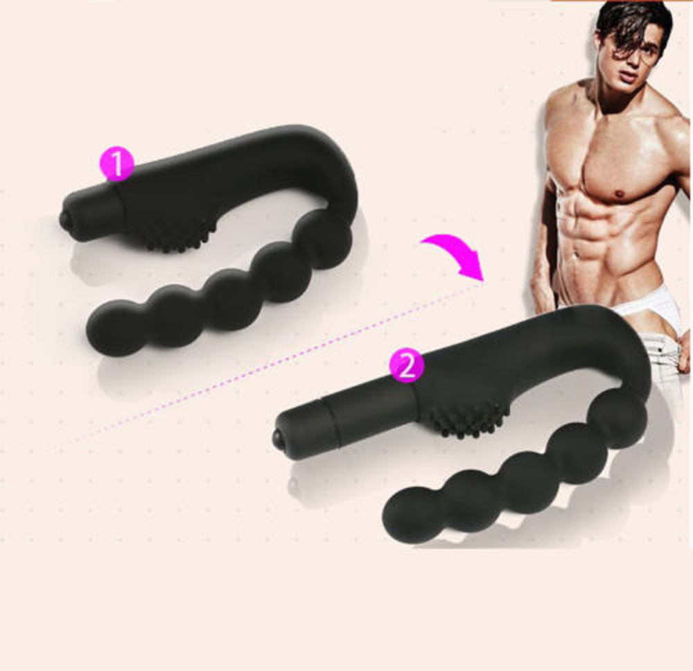 10 Speed Anal Plug Prostate Massager Anal Beads Vibrator