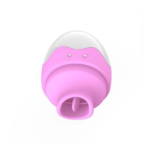 7 Speed Tongue Vaginal Egg Clitoral Stimulator Vibrator
