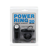 20 Speed Vibrating Cock Ring In Black