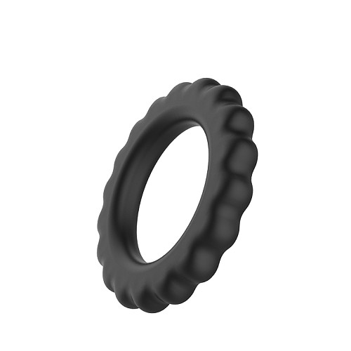 Silicone Cock Ring in Black