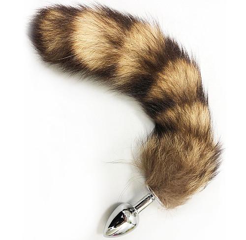 Tail Anal Plugs Faux Fox Tail Butt Plug