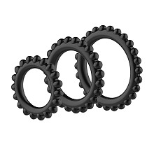 Silicone Cock Rings 3pcs/Set
