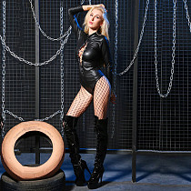 Shine Patent Leather Eyelet Straps Jumpsuit