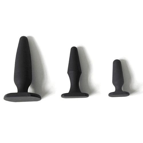 3 Size Prismatic Shape Butt Plug