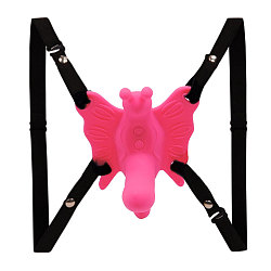 30 Speed Strap-on Butterfly Dildo