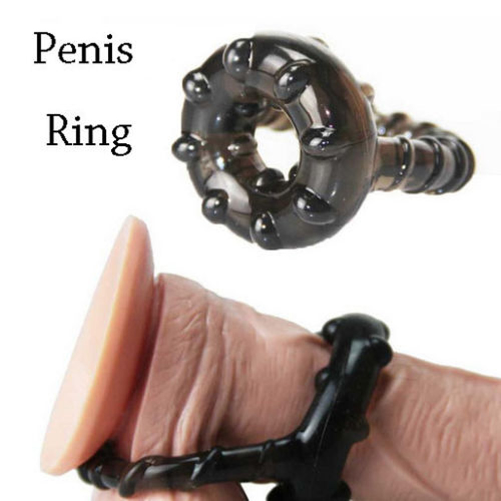 Dual Cock Ring Delay Ejaculation Penis Ring