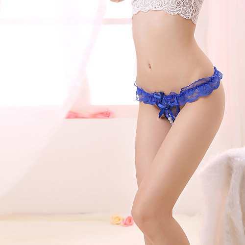 Pearl Massage Lace T Panties