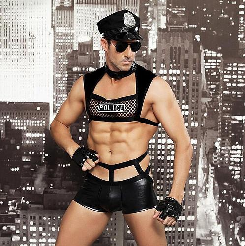 Police Superman Temptation Uniform