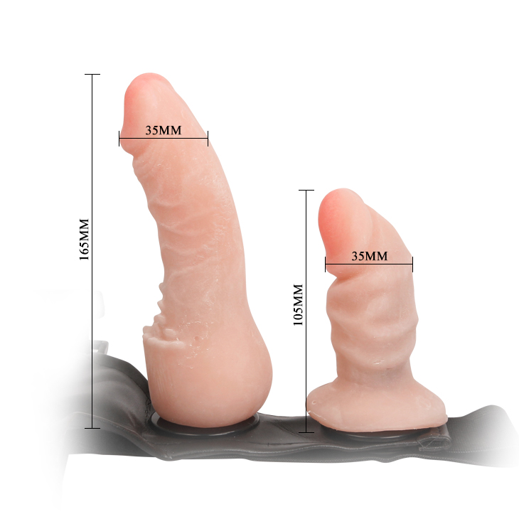 Silicone Double Strap-on Dildo