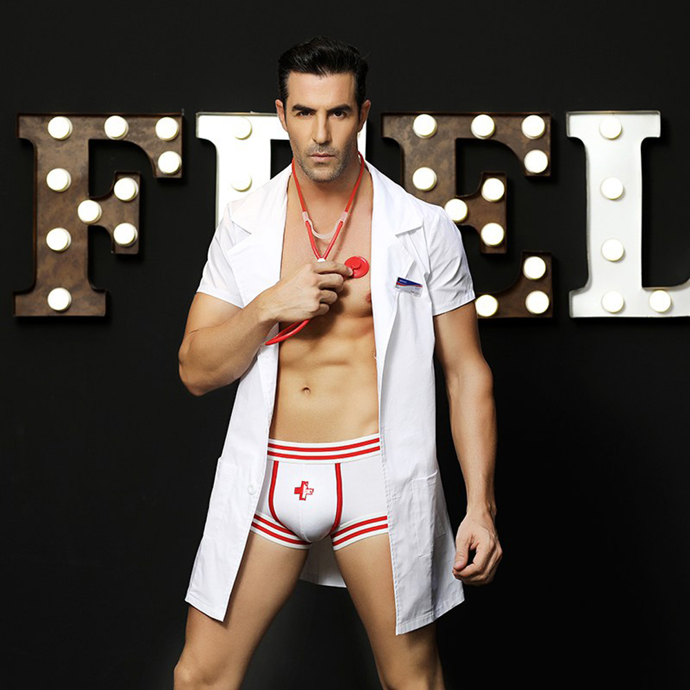 Male Doctor Uniform Temptation