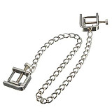 Metal Chain Nipple Clamps Stimulation Labia Clips