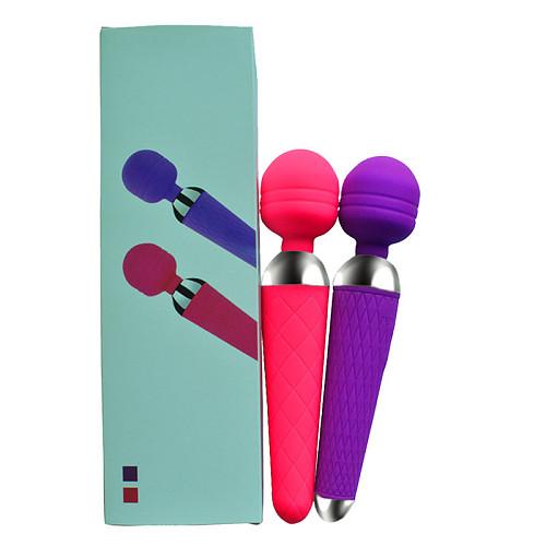 Magic Wand Vibrator USB Rechargeable Clitoris Stimulator