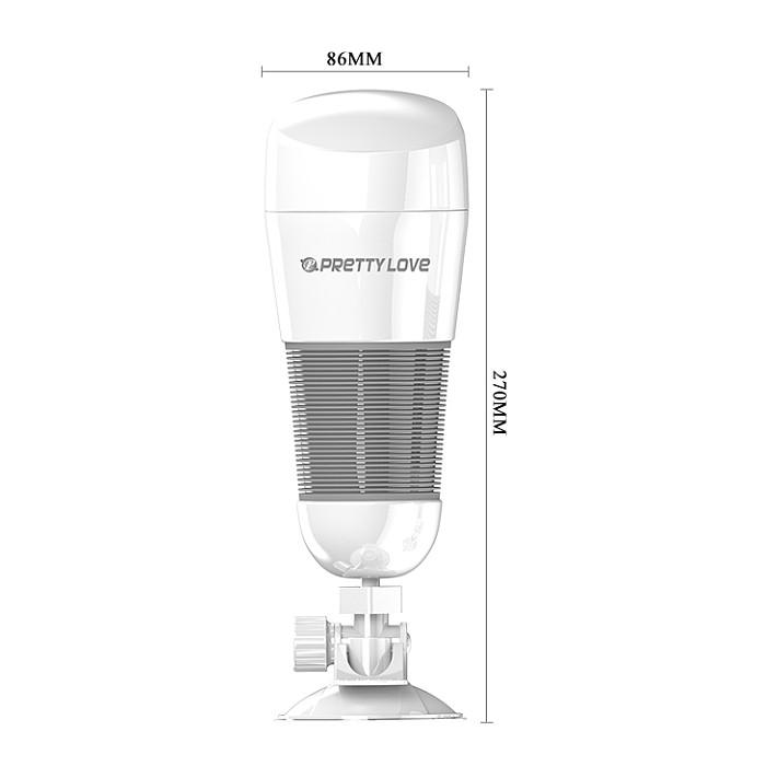 Vibrating Suction Base Masturbator Cup