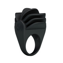 Vibrating Silicone Cock Ring Men's Toys