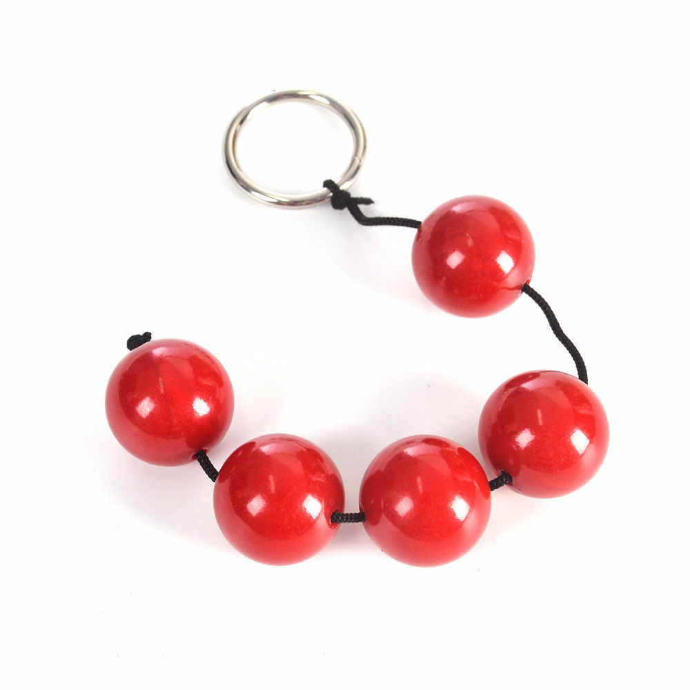 Anal Beads Butt Plug Vaginal Ben Wa Massage Ball For Men And Women Sex Toy