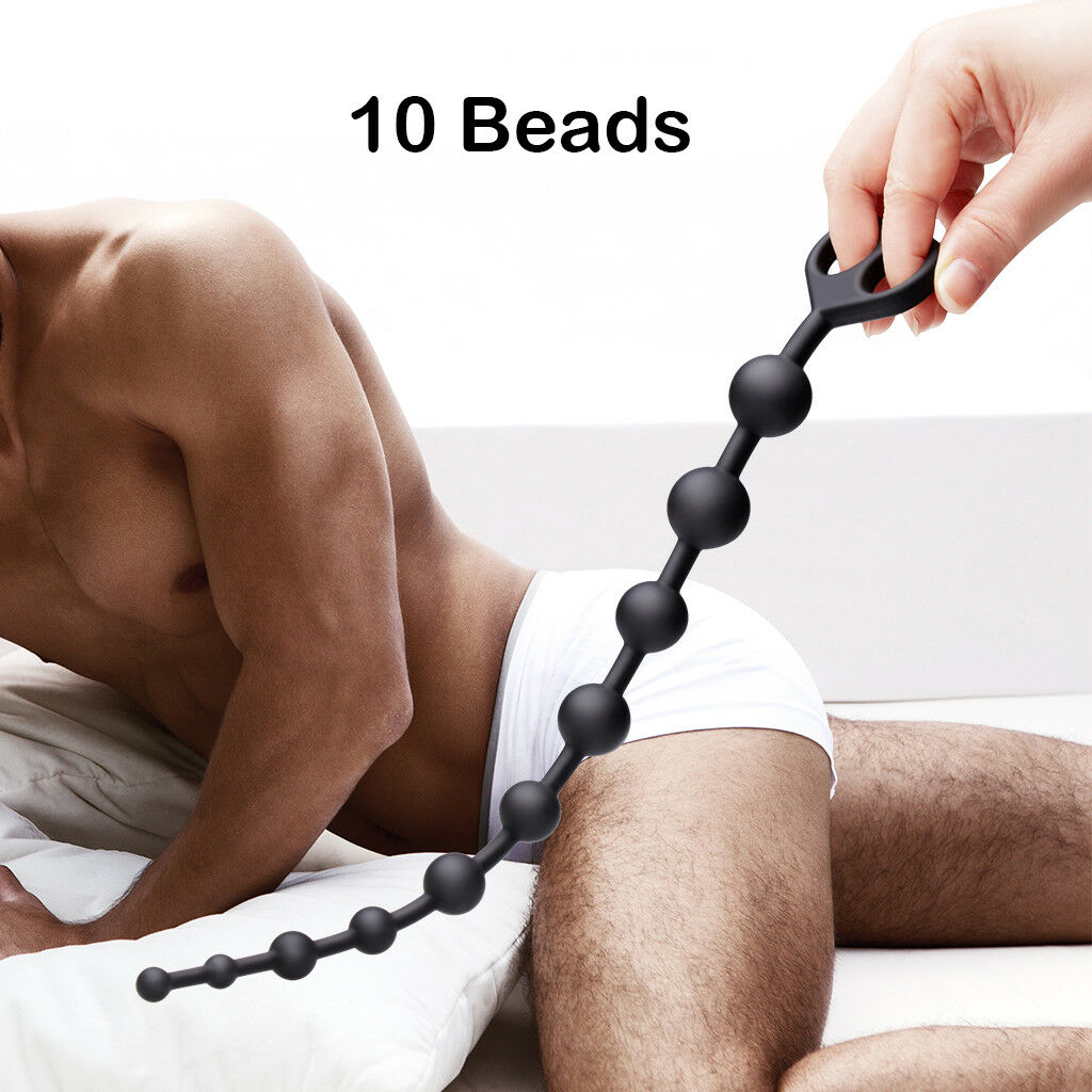 Dragons Tail Silicone Anal Beads 10 Beads