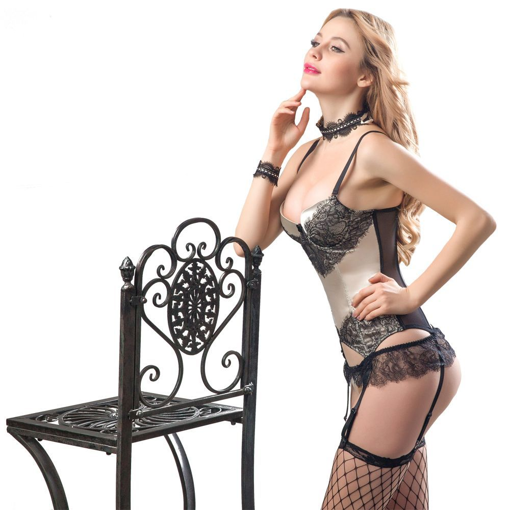 Sexy corsets, European and American popular corsets, fun pajamas