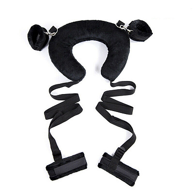 Cosplay Fetish Bed Restraint Bondage Ankle&Hand Cuffs
