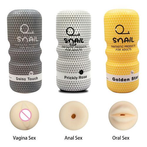 Male Masturbator Realistic Vagina Anal Silicone Pocket Pussy