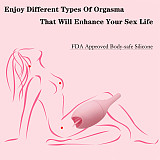 10 Speed Vibrating Love Egg Tongue Vibrator Dildo Clitoral Stimulator Sex Toy