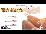 Vibrating 3 in 1 Clitoris Stimulator Nipple Stimulation