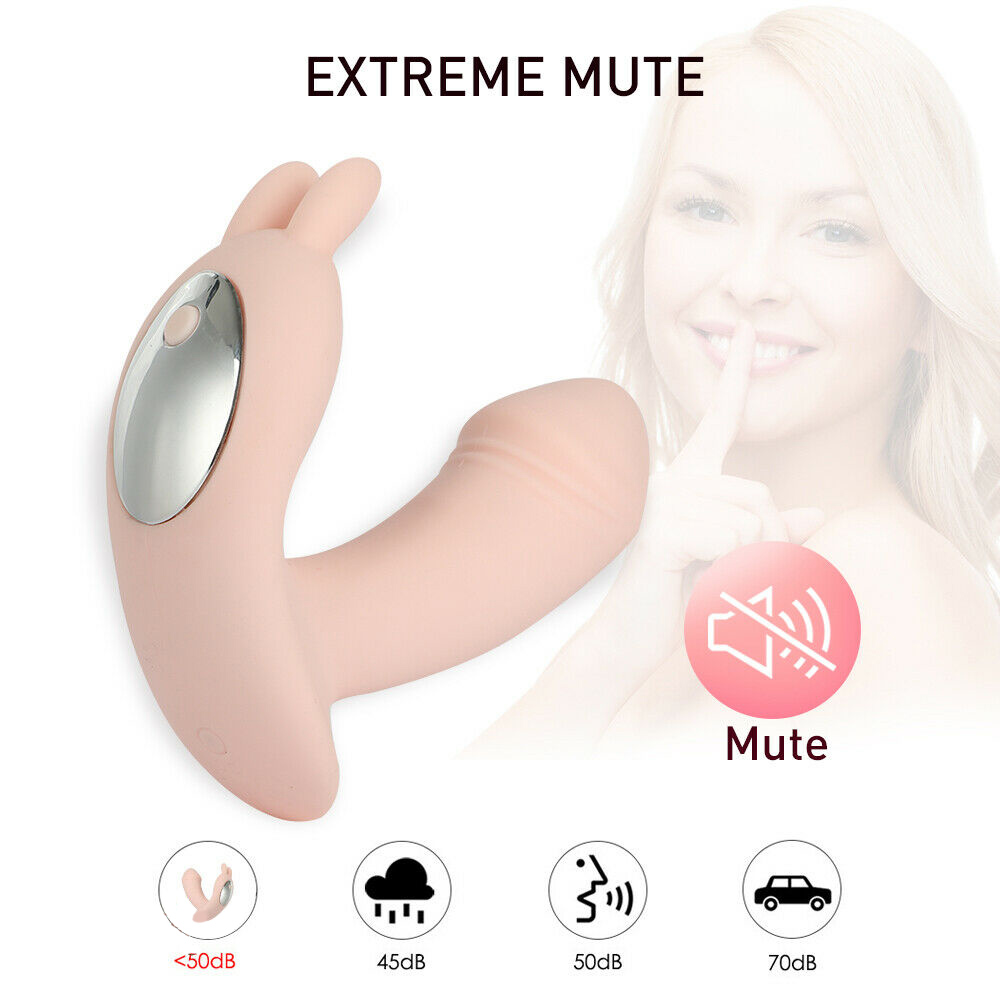G-Spot Wearable Dildo Vibrator 12 Speed Wireless Remote Control USB Charging