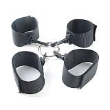 Fetish Bed Restraint Bondage Hands Ankle Cuffs