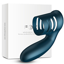 Vibrating Cock Ring USB Rechargeable Penis Ring 7 Speed