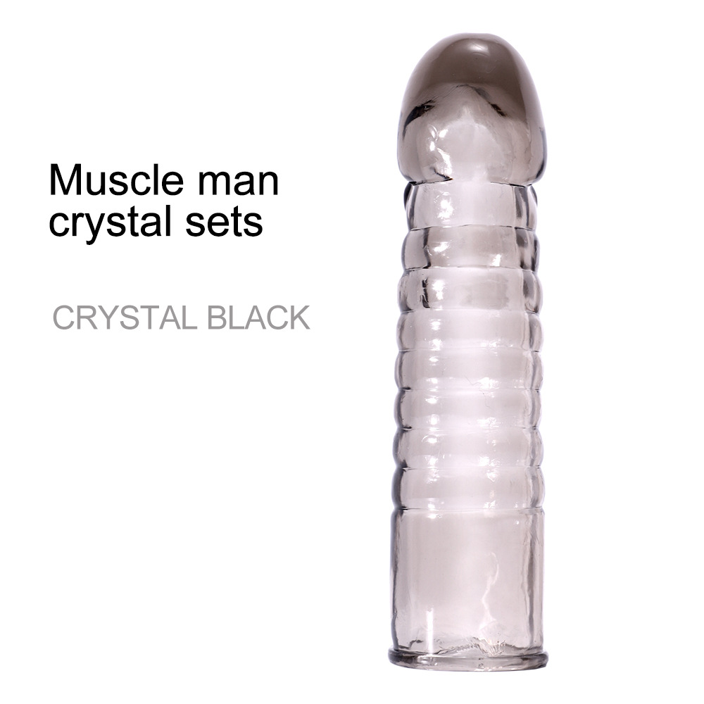 Men Extension Penis Sleeve Condom Extender