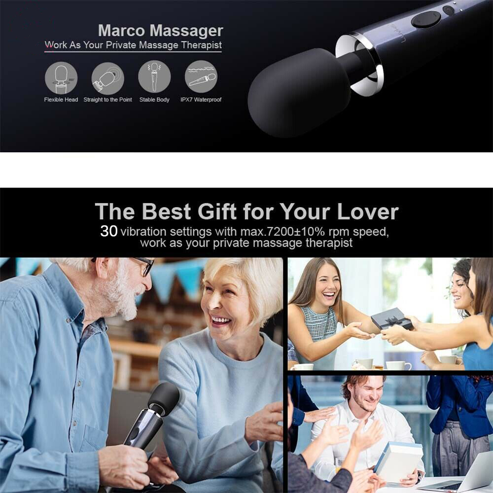Vibrator Vibrating Dildo 30 Speed Massager Magic Wand Adult Sex Toys