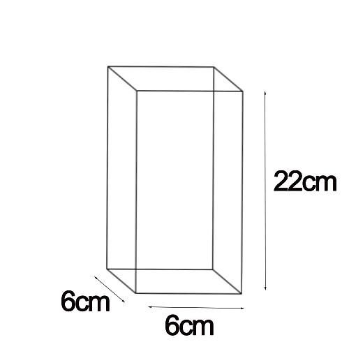 Customized 6cm*6cm*22cm packaging
