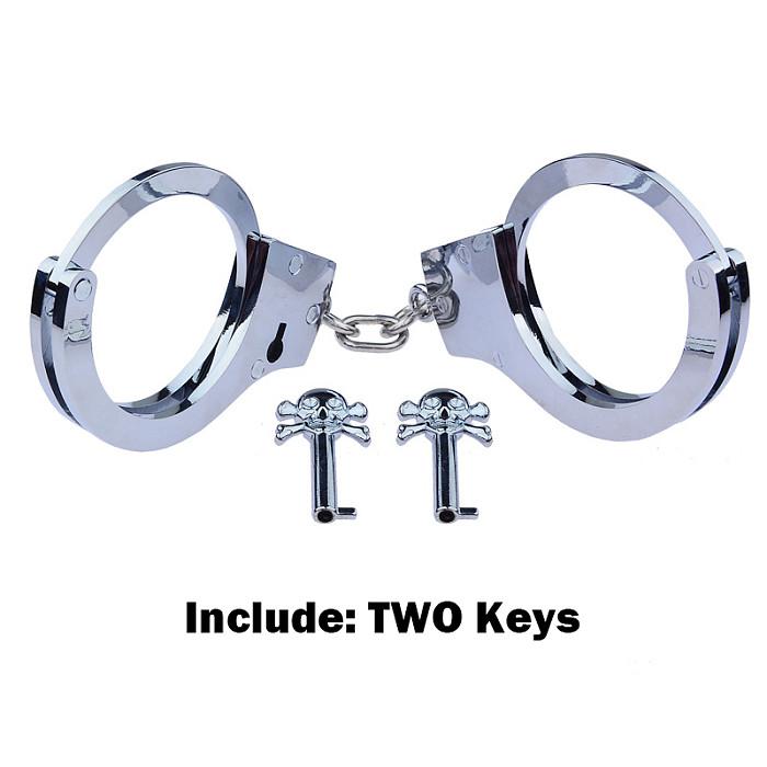 Bondage Tied Sex Metal Handcuffs