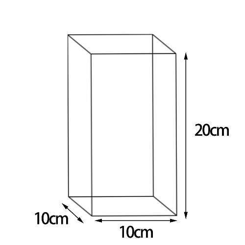 Customized 10cm*10cm*20cm packaging