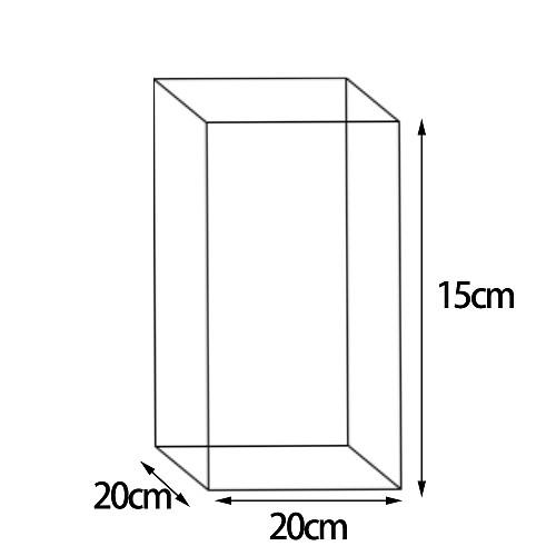 Customized 20cm*20cm*15cm packaging