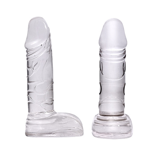 Silicone Anal Plugs Realistic Suction Cup Dildo Anal Butt Plug