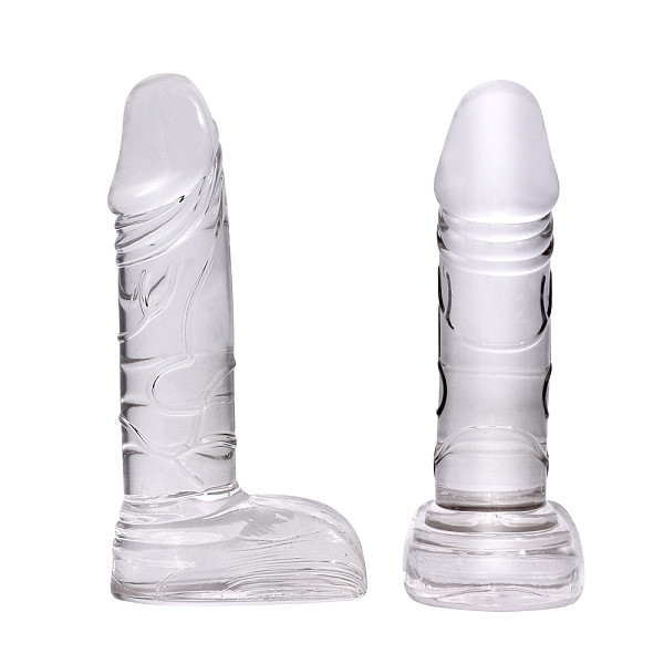 Silicone Anal Plugs Realistic Suction Cup Dildo Anal Butt Plug Adult Sex Toys