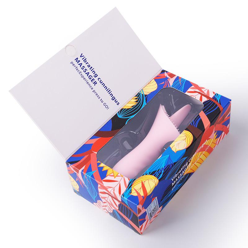 Wholesale Tongue Vibrator 10 Mode Silicone Clitoris Stimulator Dildo Oral Sex Toy