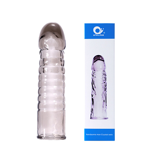 Men Extension Penis Sleeve Condom