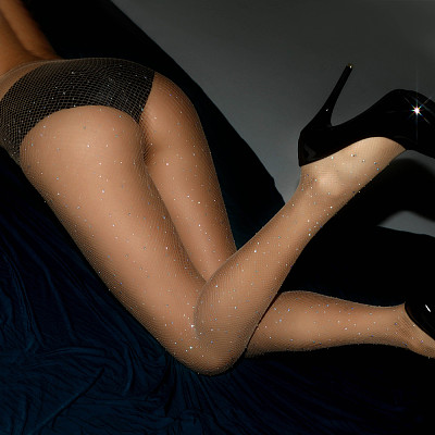 Sexy Women's Diamond Fishnet Hosiery Pantyhose Tights Fashion Stockings