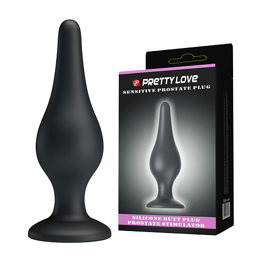 Silicone Suction Base Anal Butt Plug