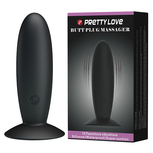 12 Speed USB Rechargeable Anal Plug