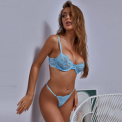 Blue sexy lingerie& Panty