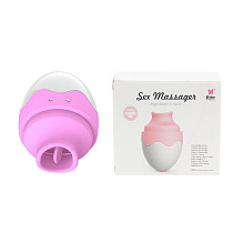 7 Speed Tongue Vaginal Egg Clitoral Stimulator Vibrator