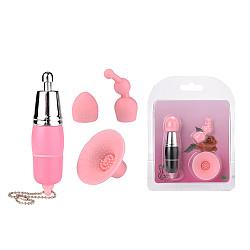 Vibrating 3 in 1 Clitoris Stimulator Nipple Stimulation