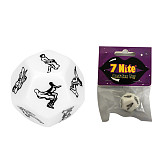 Sex Dice 12 Sided Couples Gambling Adult Game