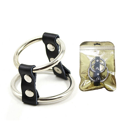 Dual Cock Ring With Ball Double Penis Rings Last Longer Adult Sex Toys
